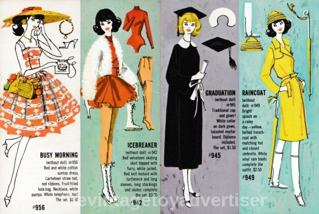 6097143fcd7 Below are scans from the blue version wardrobe booklet – Barbie