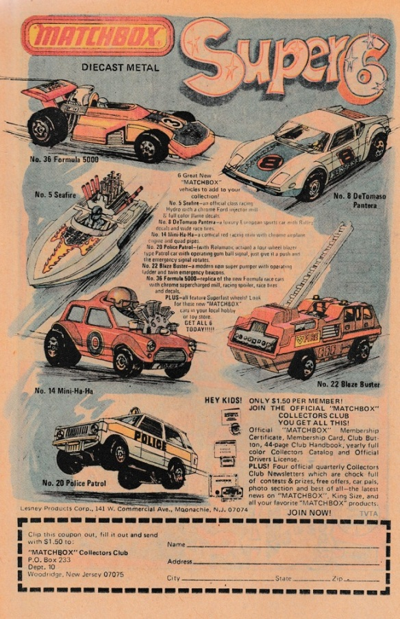 Matchbox Powertrack Race N Chase The Vintage Toy Advertiser